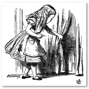 alice_in_wonderlandsmall door tenniel