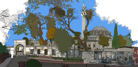 Gazi ahmet pasa mosque istanbul