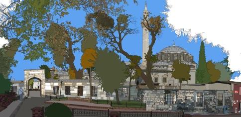 Gazi ahmet pasa mosque istanbul2