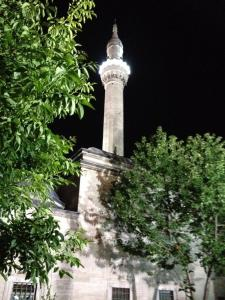 minaret night