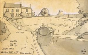 braunston tunnel 1950s