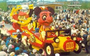 mickey Flower-parade