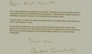 carmichael letter
