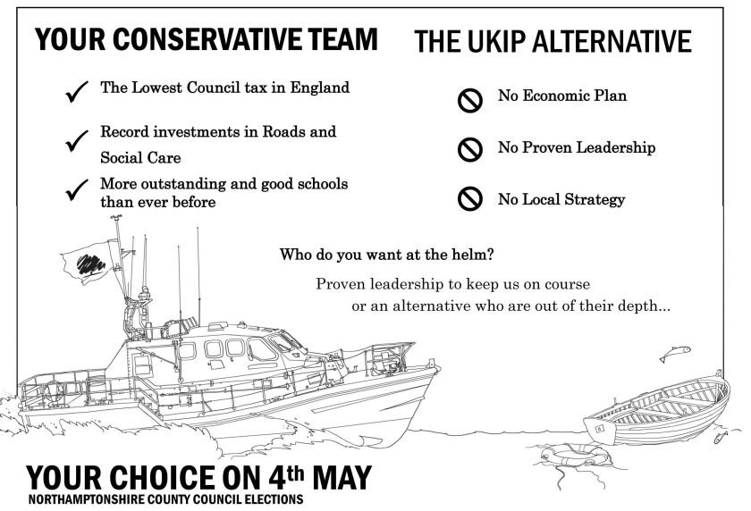 Con V UKIP Flyer