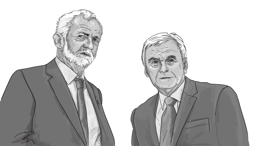 corbyn and mcdonnell by TIM