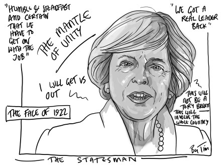 the statesman MAY by TIM