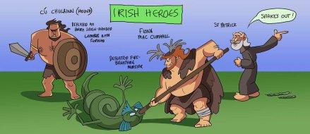 irish heroes