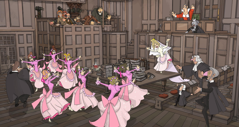 bridesmaids chorus end extra