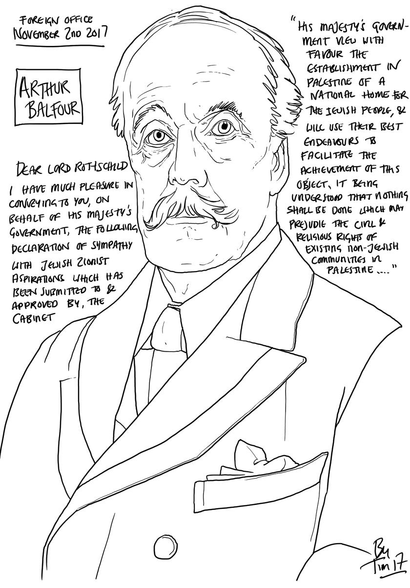 balfour declaration by TIM