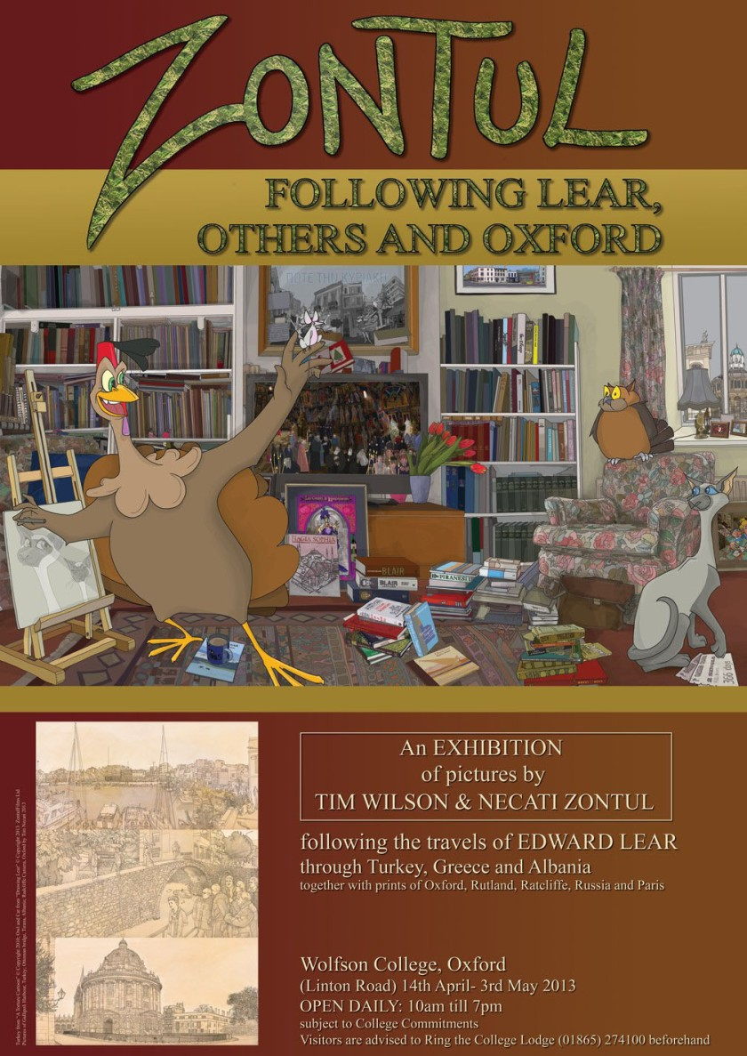 poster FOLLOWING LEAR by Tim