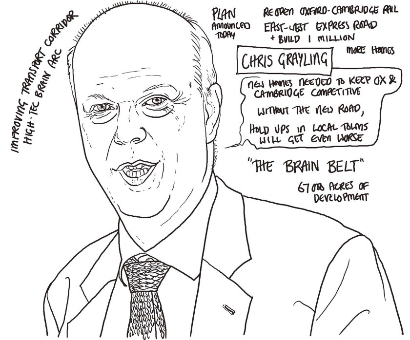 Chris Grayling by TIM