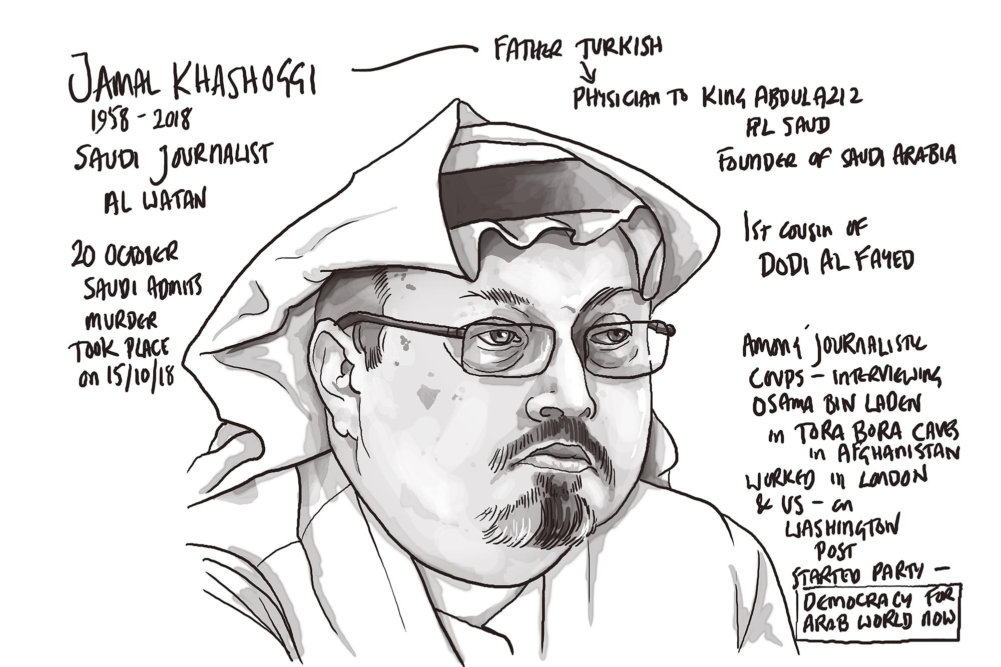 Jamal Khashoggi by TIM