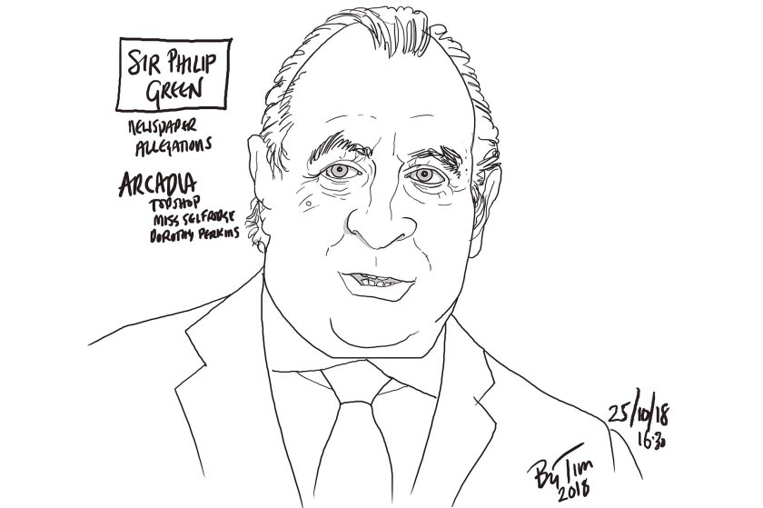sir philip green by TIM