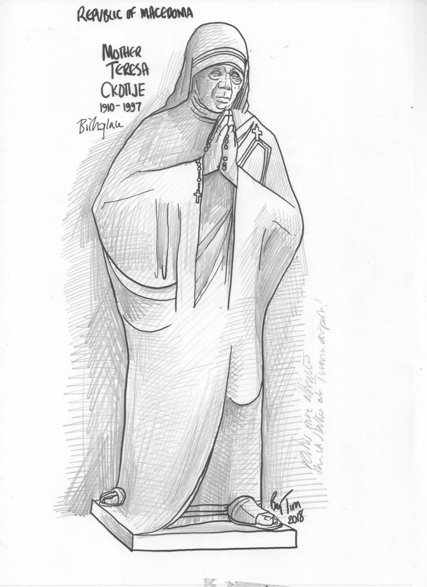 mother Teresa by TIM