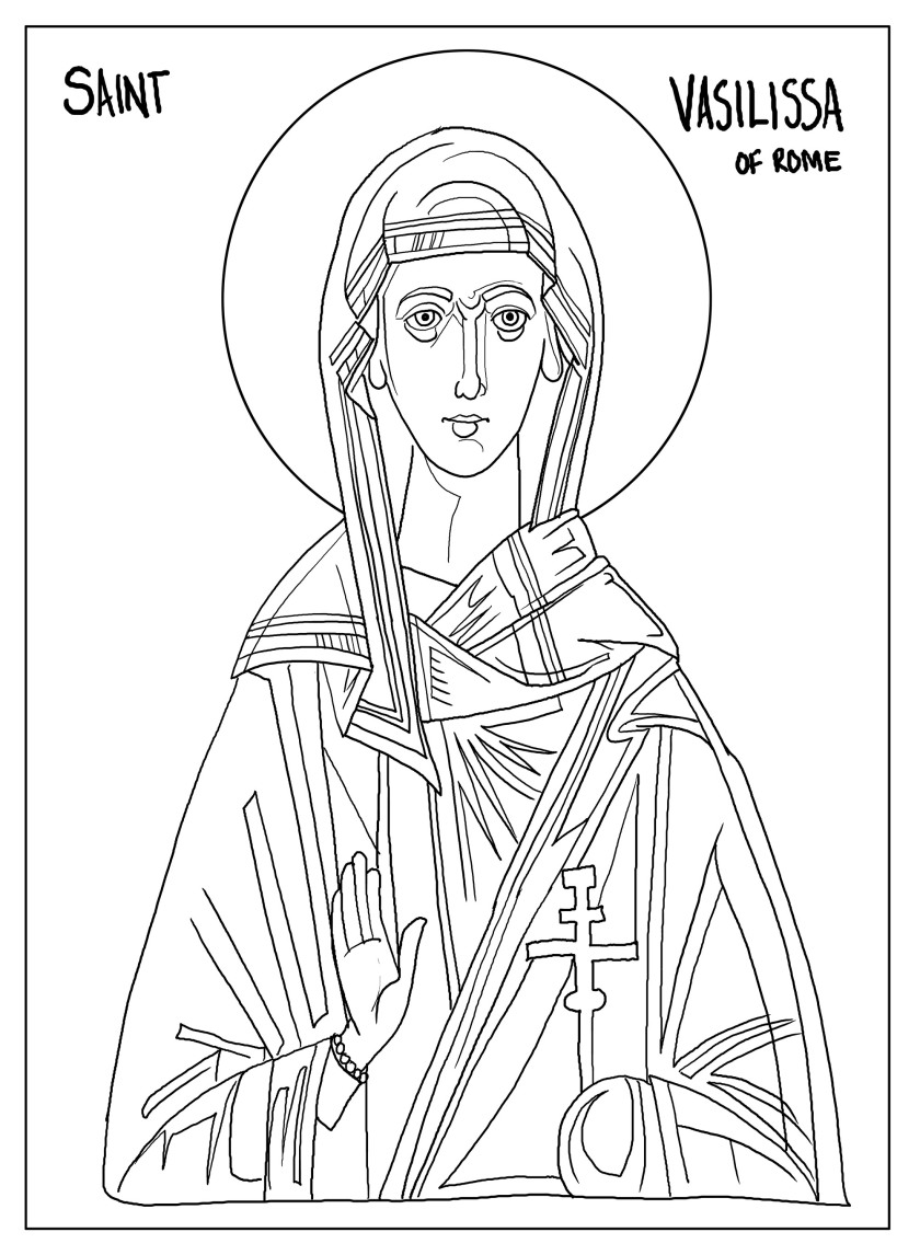 Saint Vasilissa of Rome by TIM.jpg