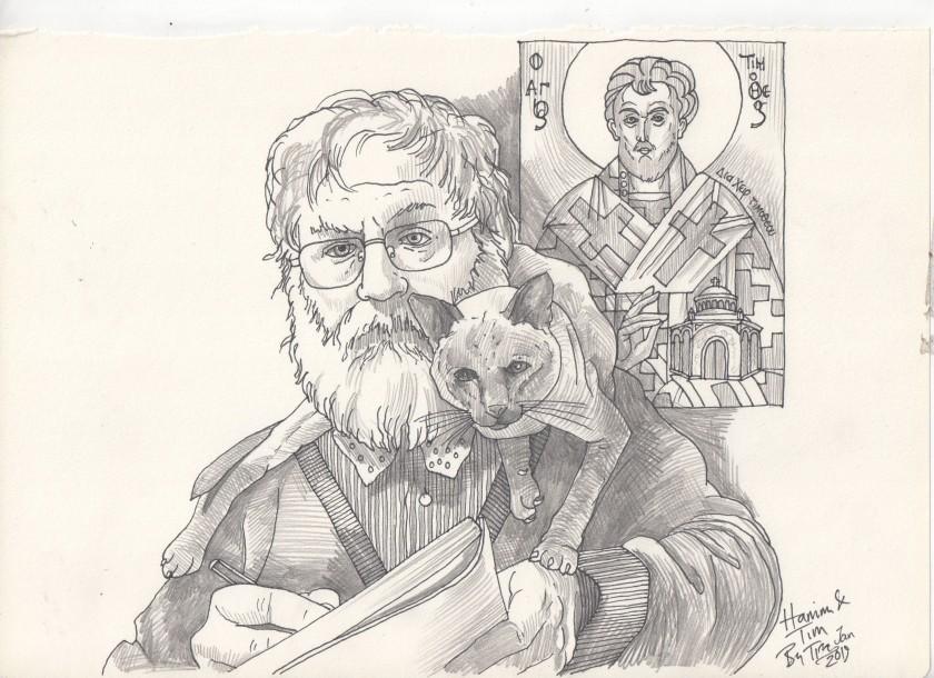 hanim tim & St Timothy.jpg