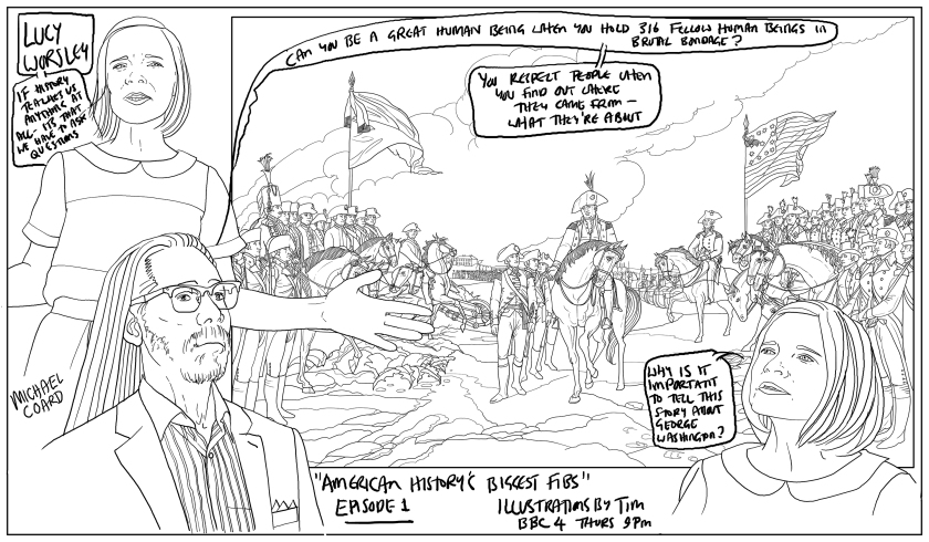 luct worsley's American History's Biggest fibs illustrated by TIM.jpg
