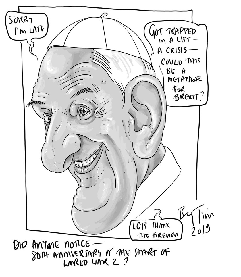 pope francis in lift .jpg