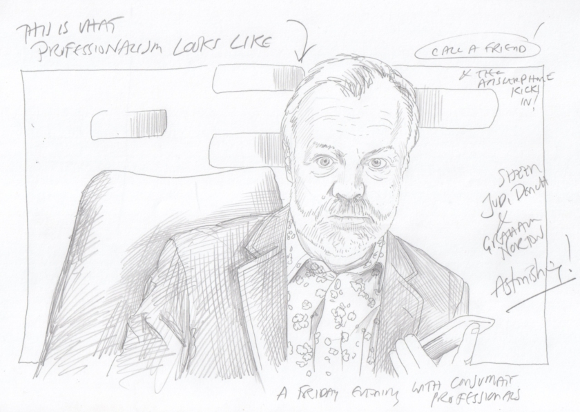 Graham Norton by TIM phoning Judi Dench
